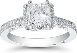 engagement rings 100 1 20ct princess cut platinum tacori diamond engagement ring 100 00133