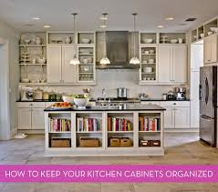 how should kitchen cabinets be organized 7 ways to keep your kitchen cabinets organized curbly