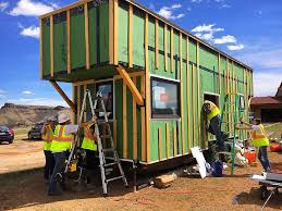 mines team prepares for solar decathlon with a tiny house