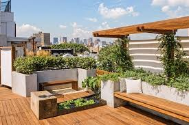 Garden Roof Ideas Balcony And Rooftop Garden Ideas Recycled Things