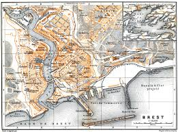 Brest France Map by Brest Map