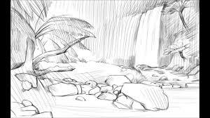 draw jungle