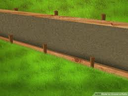Laying Patio Slabs On Grass How To Create A Patio With Pictures Wikihow