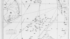 South China Sea Map South China Sea The Line On A 70 Year Old Map That Threatens To