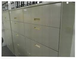 Used File Cabinet Hon Brigade Series Inch Drawer Lateral File Cabinet Design 26