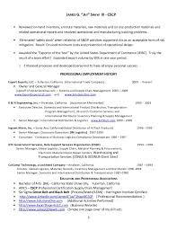 Supply Chain Resume Format Logistics Resume Sample Resume Logistics Manager Http