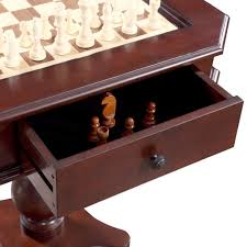 chess table and chairs set fortress chess checkers backgammon pedestal game table chairs