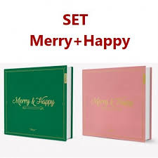 set 1st album repackage merry happy