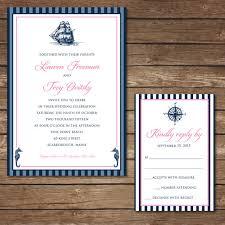 digital wedding invitations diy wedding invitation nautical wedding invitation serendipity