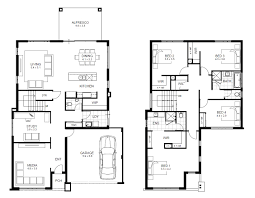 2 storey house floor plans with diions home deco plans