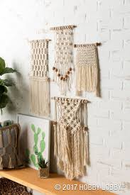 99 best shabby cottage home decor images on pinterest shabby transform your space with macrame wall hangings we created this look using square knots and