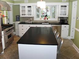 Before And After White Kitchen Cabinets Granite Countertop Restain Kitchen Cabinets Before And After