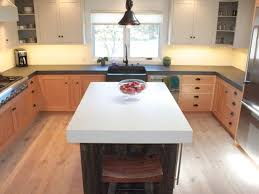 Kitchen Island Electrical Outlet Kitchen Fabulous Concrete Kitchen Island Booth Concrete Kitchen