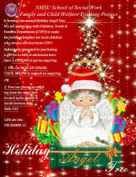 holiday angel tree of social work new mexico state
