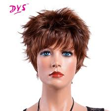 cost of a womens haircut and color in paris france new deyngs short pixie cut synthetic wigs with bangs for black