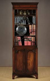 Narrow Mahogany Bookcase Narrow Mahogany Bookcase C 1930 316336 Sellingantiques Co Uk