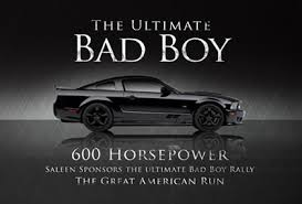 mustang car quotes bad boy saleen mustang goes to cannonball winner