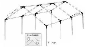 A Frame Kit by Tents Wall Tents Wall Tent Canvas Tent Hunting Tents Camping
