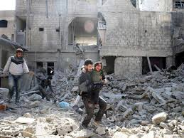 what is the meaning of siege howls of outrage the ghouta siege ring hollow we