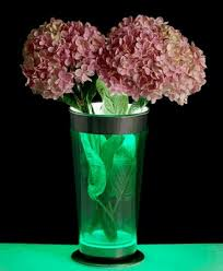 Led Lights In Vases Led Flower Vase From The Future Lamps Plus