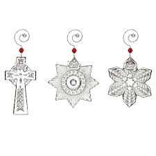 waterford mini ornament set ornament 2017