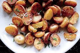 crispy salt and vinegar potatoes recipe epicurious com