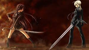 anime wallpapers girls sword fighting anime guys in sword fight blood anime fighting girls images