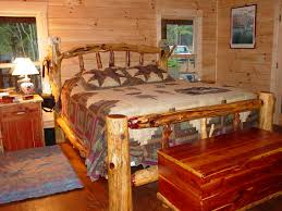 Log Bed Pictures by Rustic Log Beds Twisted Juniper Beds