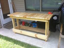 Plans For Building A Wood Workbench by Diy Wood Workbench Top Wooden Pdf Jarrah Wood Stain Harsh18gvew6