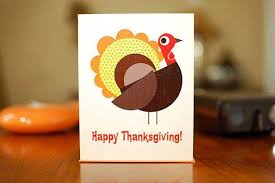 different ideas for thanksgiving cards family