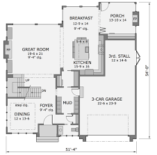 6 Car Garage Plans 28 Floor Plans For Garages Traditional House Plans Garage W 24x50