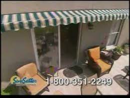 How Much Is A Sunsetter Retractable Awning Sunsetter Awnings Tv Commercial Youtube