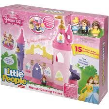 Fisher Price Doll House Furniture Disney Princess Musical Dancing Palace By Little People Walmart Com
