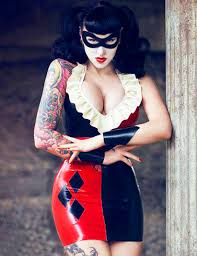 Harley Quinn Halloween Costume Harley Quinn Cosplay Costume Halloween 15112069 Cosercosplay