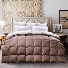 Goose Down Comforter Queen Amazon Com C U0026w Luxurious Goose Down Comforter King Size Goose