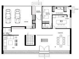 ground floor plan gallery of gp house bitar arquitectos 14