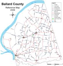Ky County Map Ballard County Wide Yard Sale U2013 Kygrro