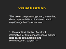 visualization as a digital humanities hastac we could certainly come up with others but what i want to note are two important points 1 the visualizations i u0027m talking about are digital