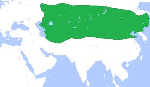 Mongolian Empire Map File Mongolempiregenghisdeath1227 Png Wikimedia Commons