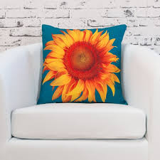 Decorative Pieces For Home by Sunflower Decorative Pillows To Brighten Your Home