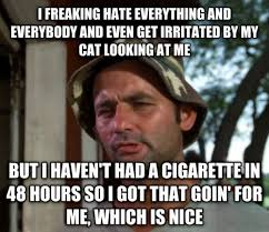 Anti Smoking Meme - simple quit smoking recently try not to freak out pswork testing