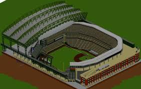 Baseball Map Baseball Stadium Safeco Field Minecraft Project