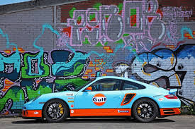 gulf porsche 911 porsche 911 turbo with gulf wrap looks neat and with 650hp is