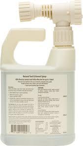 natural chemistry natural yard u0026 kennel spray 32 oz spray