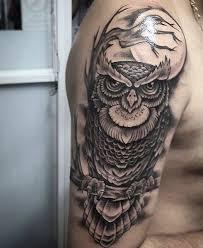 Owl Shoulder - back shoulder owl buscar con