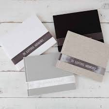 funeral guest books velvet in loving memory memorial book by blue sky papers