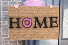 personalized front door mats the sturdy and resistant for all