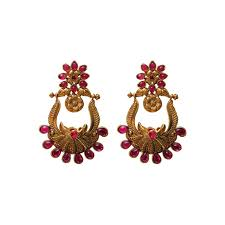gold earrings online black metal jhumka earrings online earrings designs in gold