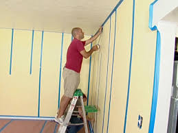 how to paint striped walls for a contrast of color how tos diy
