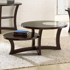 steve silver alice 3 piece coffee table set in espresso beyond